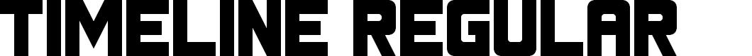 Preview image for Timeline Regular Font