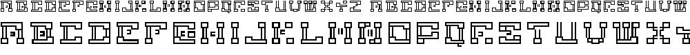 Preview image for ronnyrobotron Font