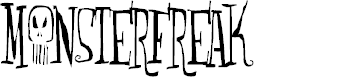 Preview image for Monsterfreak Font