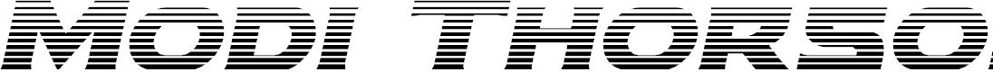 Preview image for Modi Thorson Gradient Italic