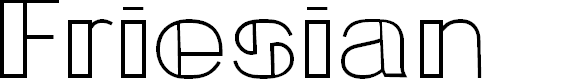 Preview image for Friesian Font