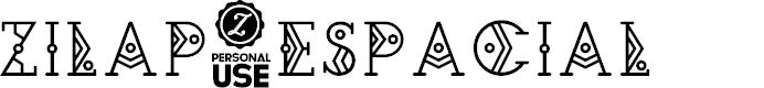 Preview image for Zilap Espacial Font