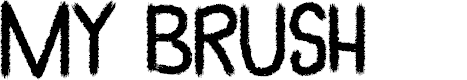 Preview image for My Brush Font
