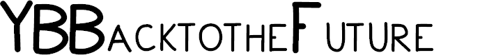 Preview image for YBBacktotheFuture Font
