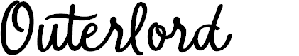 Preview image for Outerlord Font