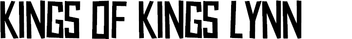 Preview image for Kings of Kings Lynn Font