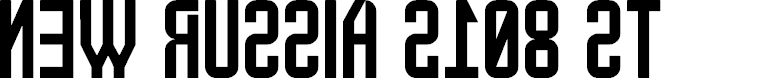 Preview image for New Russia 2108 St Font