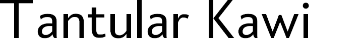 Preview image for Tantular Kawi Font