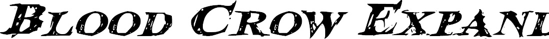 Preview image for Blood Crow Expanded Italic