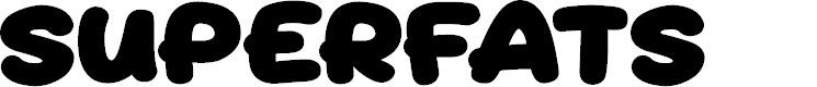 Preview image for Superfats Font