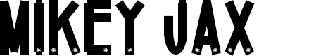 Preview image for Mikey Jax Font