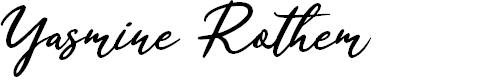 Preview image for Yasmine Rothem  Font