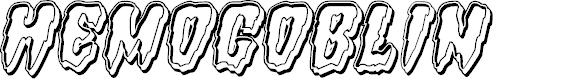 Preview image for Hemogoblin Engraved Italic