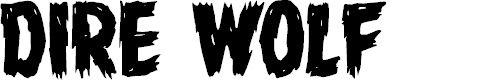Preview image for Dire Wolf Regular Font