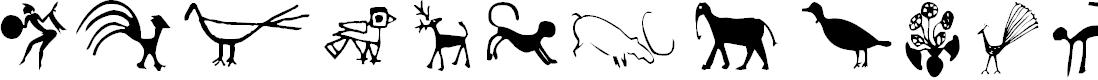 Preview image for CavePaintingDingbats Font