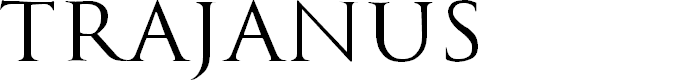 Preview image for Trajanus Roman Font