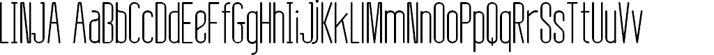 Preview image for Linja Font