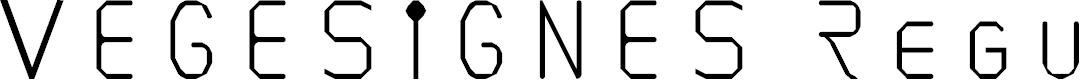 Preview image for VEGESIGNES Regular Font