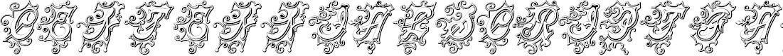 Preview image for CentennialScriptFancy Three Font