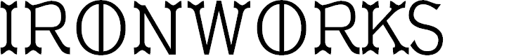Preview image for Ironworks Font