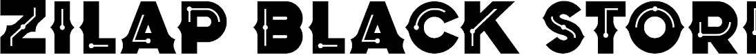 Preview image for Zilap Black Storm Black Font