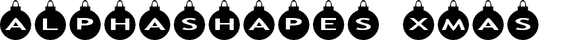 Preview image for AlphaShapes xmas balls