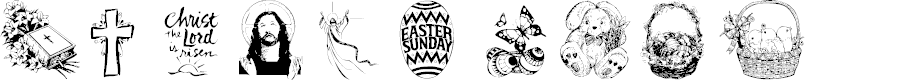 Preview image for Eastertide Font
