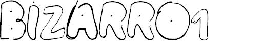 Preview image for BIZARRO1 Font