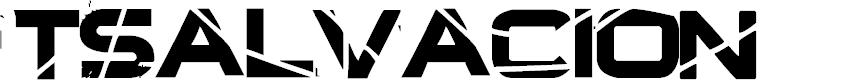 Preview image for TSalvacion Font
