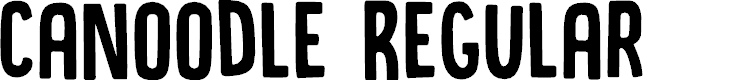 Preview image for DK Canoodle Regular Font