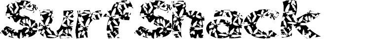 Preview image for SurfShack Font