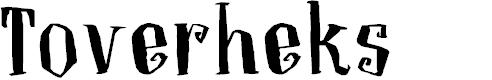 Preview image for DKToverheks Font