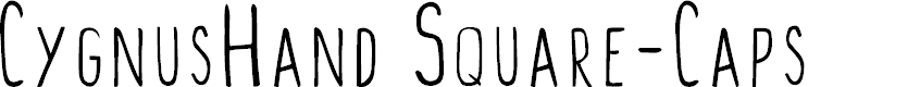 Preview image for CygnusHand Square-Caps