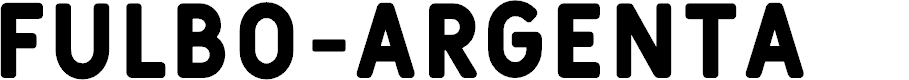 Preview image for Fulbo-Argenta Font