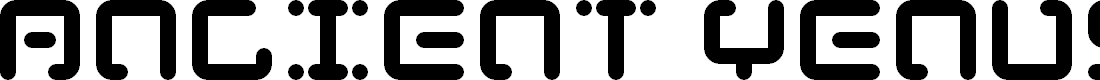 Preview image for Ancient Venusian Font
