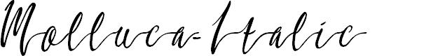 Preview image for Molluca-Italic