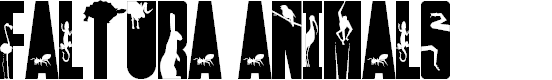Preview image for Faltura Animals Font