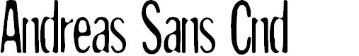 Preview image for Andreas Sans Cnd