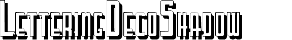 Preview image for LetteringDecoShadow