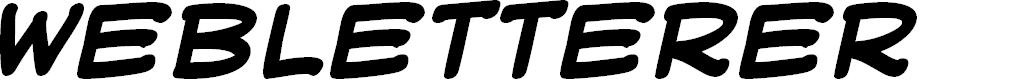 Preview image for WebLetterer BB Bold