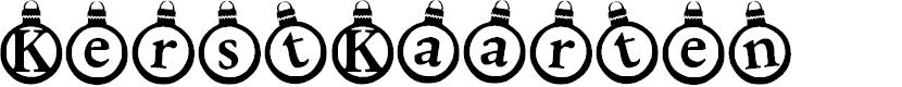 Preview image for KerstKaarten Font