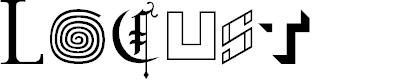 Preview image for Locust Regular Font