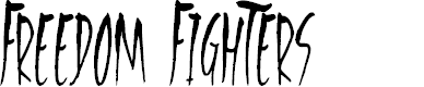 Preview image for Freedom Fighters Font