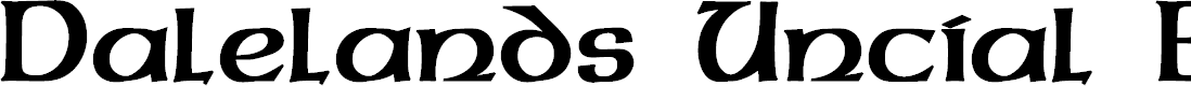 Preview image for Dalelands Uncial Bold