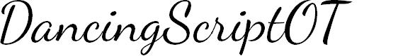 Preview image for DancingScriptOT