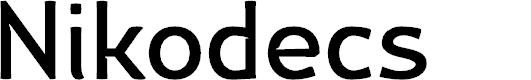 Preview image for Nikodecs Font