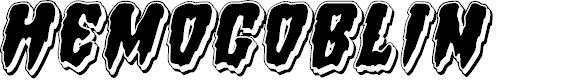 Preview image for Hemogoblin Punch Italic