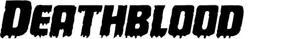 Preview image for Deathblood Expanded Italic