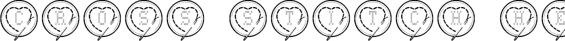 Preview image for Cross Stitch Hearts