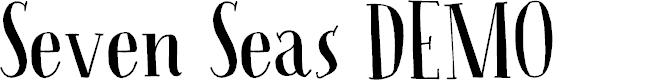 Preview image for Seven Seas DEMO Regular Font
